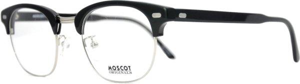 画像2: MOSCOT/モスコット【YUKEL】Black/Silver 48サイズ