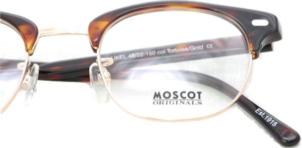 画像4: MOSCOT/モスコット【YUKEL】Burnt Tortoise/Gold 48サイズ