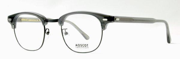 画像2: MOSCOT/モスコット【YUKEL】GREY/BLACK 48サイズ