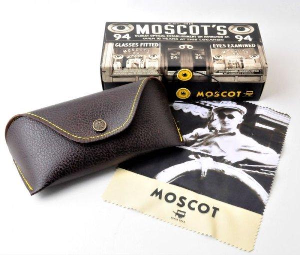 画像5: MOSCOT/モスコット【YUKEL】Burnt Tortoise/Gold 48サイズ