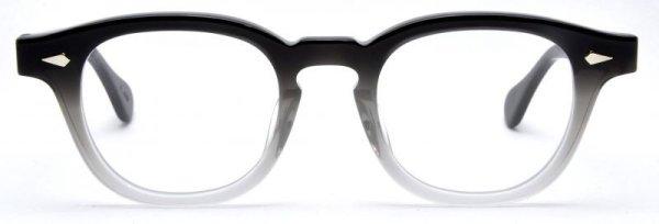 画像1: JULIUS TART OPTICAL/ジュリアス タート オプティカル【AR】Black-Clear Fade 46サイズ