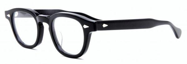 画像2: JULIUS TART OPTICAL/ジュリアス タート オプティカル【AR】Black 46サイズ
