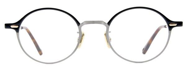画像1: OG × Oliver Goldsmith/オージーバイ・オリバーゴールドスミス【Re.RETRO SIX 47】051 Silver / Dark Green 47サイズ