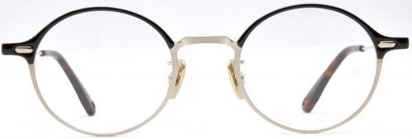 画像1: OG × Oliver Goldsmith/オージーバイ・オリバーゴールドスミス【Re.RETRO SIX 47】052 Light Gold/Brown 47サイズ