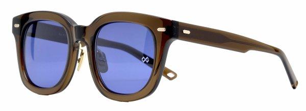 画像2: OG × Oliver Goldsmith/オージーバイ・オリバーゴールドスミス【Re.RORY 50 SG】115-5 Clear Brown 50サイズ