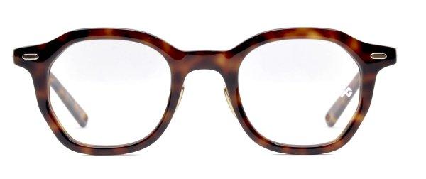 画像1: OG × Oliver Goldsmith/オージーバイ・オリバーゴールドスミス【Re.BETSY 45】118-5 Havana 45サイズ