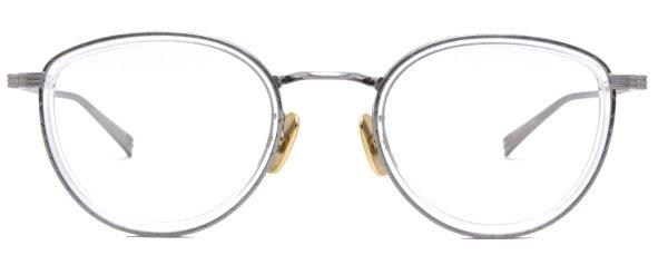 画像1: OG × Oliver Goldsmith/オージーバイ・オリバーゴールドスミス【Actress 48-2】020-4 Silver/Clear 48サイズ