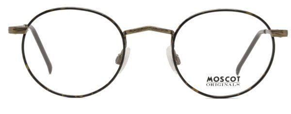 画像1: MOSCOT/モスコット【DOV】 Tortoise / Antique Gold 45サイズ