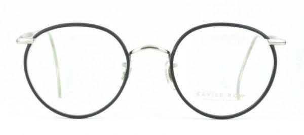 画像1: SAVILE ROW/サヴィルロウ【Beaufort Panto】 Rhodium / Matt Black  47サイズ