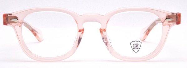 画像1: JULIUS TART OPTICAL/ジュリアス タート オプティカル【AR】Flesh Pink 44サイズ