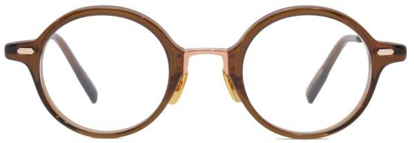 画像1: OG × Oliver Goldsmith/オージーバイ・オリバーゴールドスミス 【Innovator】115 Clear Brown 45サイズ