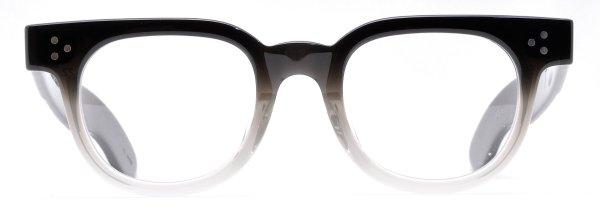 画像1: JULIUS TART OPTICAL/ジュリアス タート オプティカル【FDR】Black-Clear Fade  46サイズ