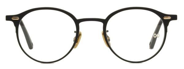 画像1: OG × Oliver Goldsmith/オージーバイ・オリバーゴールドスミス【Re.PIMLICO 46】050 Matt Black/Black 46サイズ