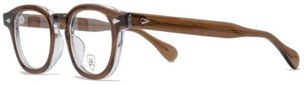 画像2: JULIUS TART OPTICAL/ジュリアス タート オプティカル【AR】Brown Crystal II 46サイズ