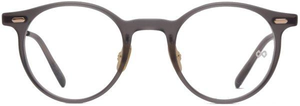 画像1: 蒲池眼鏡舗 限定モデル OG × Oliver Goldsmith/オージーバイ・オリバーゴールドスミス【Re:YORK】117-2 Matt Clear Grey 46サイズ