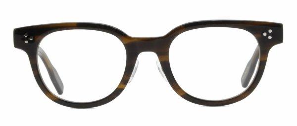 画像1: 蒲池眼鏡舗オリジナル【WELLINGTON】 brown 48サイズ