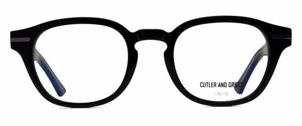 画像1: CUTLER AND GROSS/カトラーアンドグロス 【1356】 01 Black 51サイズ