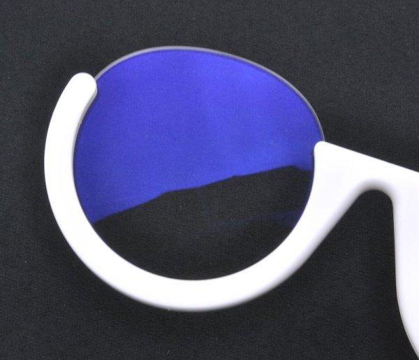 画像2: 度なし/ 伊達眼鏡用レンズ【反射防止・UVカット・撥水・ブルーライトカット】コーティング付き 無色 (2枚1組)