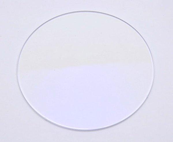 画像1: 度なし/ 伊達眼鏡用レンズ【反射防止・UVカット・撥水・ブルーライトカット】コーティング付き 無色 (2枚1組)